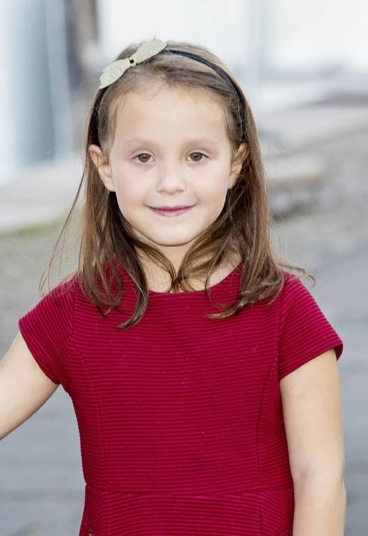 Prinzessin Athena ist ein furchtloses Mädchen. Die Enkelin von Königin Margrethe klettert sogar auf Bäume.  ©imago