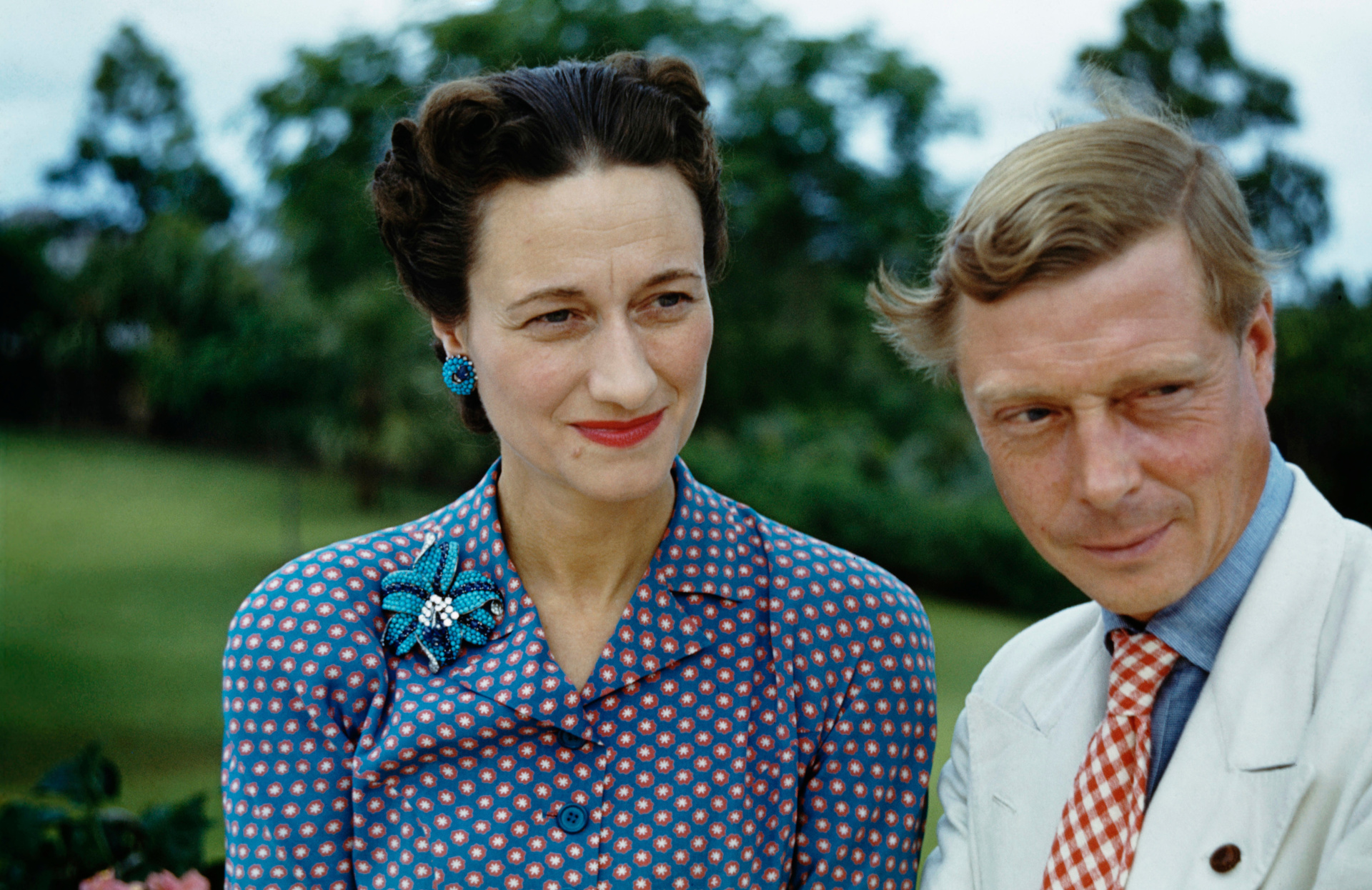 Ein König, der für die Liebe ein Weltreich aufgab: Edward VIII. von England mit seiner Frau Wallis Simpson. Neue Dokumente belegen: Der Ex-Monarch wollte zurück auf den Thron - mithilfe der Nazis.  ©ZDF/michael ochs archives