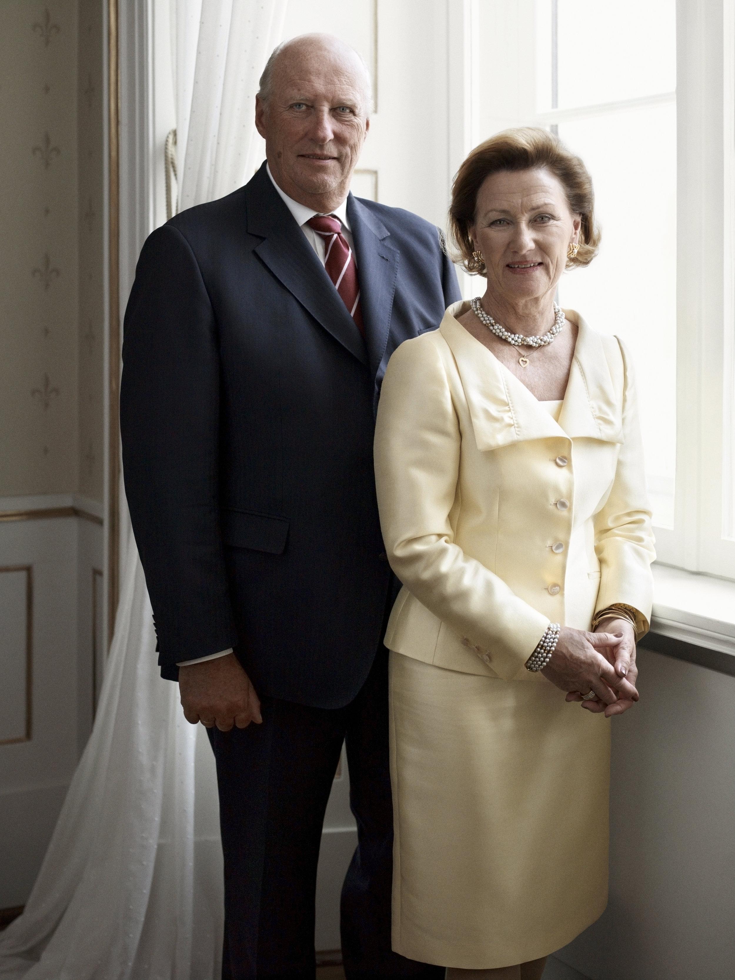 König Harald und Königin Sonja feiern bald ihre goldene Hochzeit in der Osloer Kathedrale.  ©Sølve Sundsbø / Det kongelige hoff.