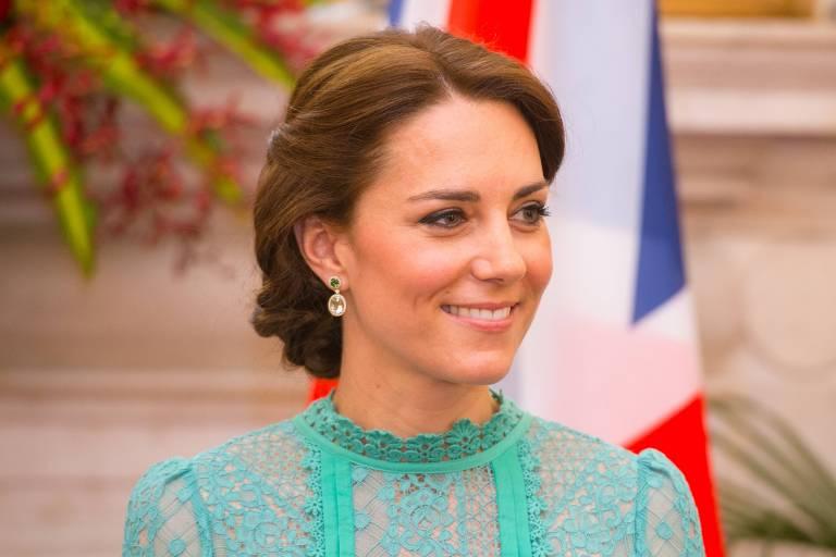 Herzogin Kate ist bei öffentlichen Auftritten stets wie aus dem Ei gepellt.  © imago/i Images