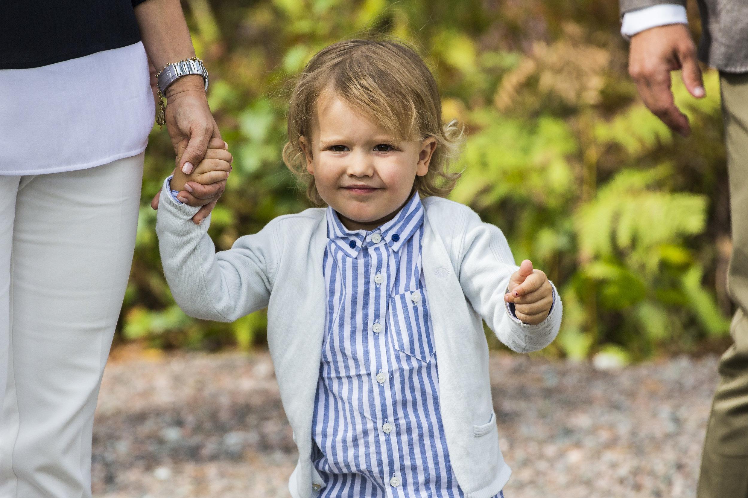 Mit seinem niedlichen Lächeln wickelt Prinz Alexander alle um den Finger.  ©Getty Images