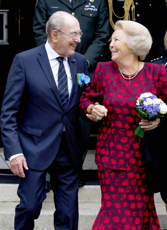 Rudi W. Hemme hofierte Prinzessin Beatrix wie eine Königin. (©imago/PPE)