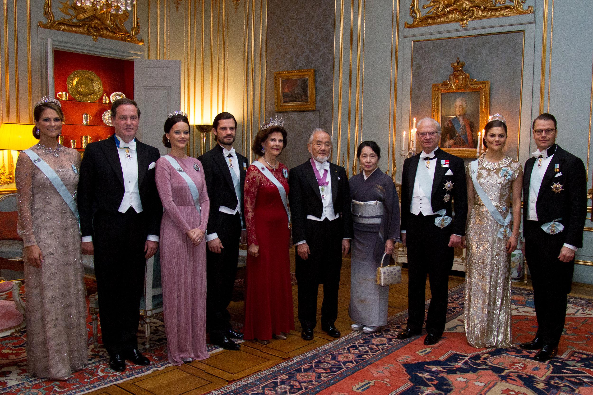 Beim Nobelpreisdinner 2016: Damals trug Prinzessin Sofia ihr Abendkleid mit einer Schärpe.  ©royalcourt.se