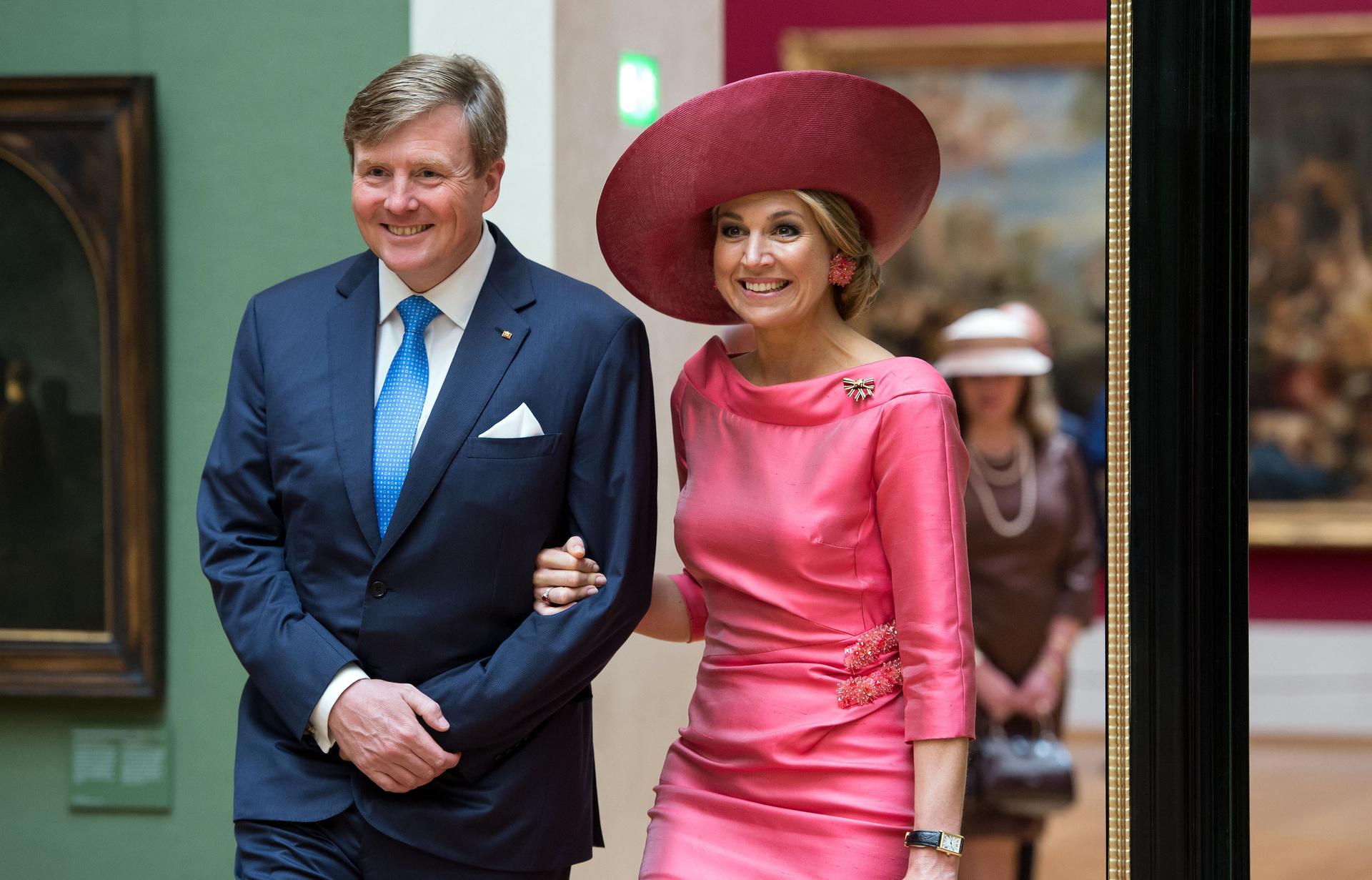 König Willem-Alexander und Königin Máxima der Niederlande mussten für ihre Liebe kämpfen. Anfangs belastete die politische Vergangenheit von Máximas Vater die Beziehung  © ZDF/Sven Hoppe