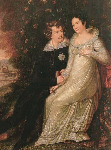 Das Oktoberfest geht auf die Hochzeitsfeier von Ludwig und Therese von Bayern zurück. ©Public Domain
