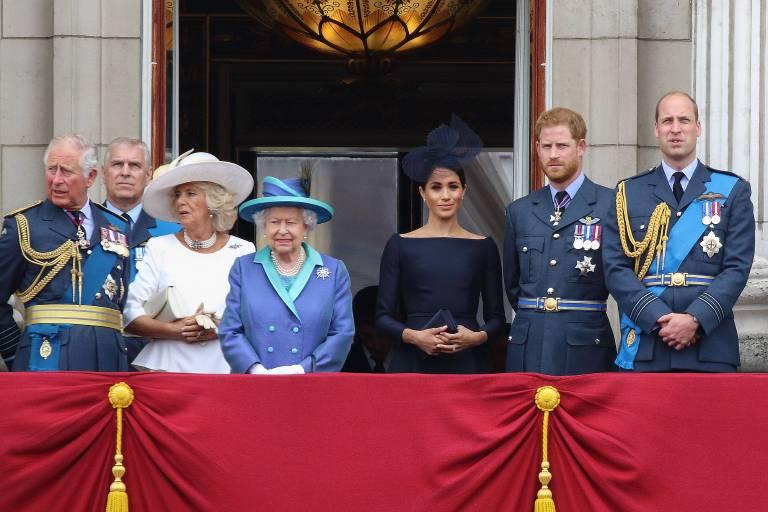 Von der britischen Königsfamilie kam niemand zu der Hochzeit. Doch es ist bekannt, dass sich vor allem die jungen Royals für die LBGTQ-Bewegung einsetzen.  ©imago/APress