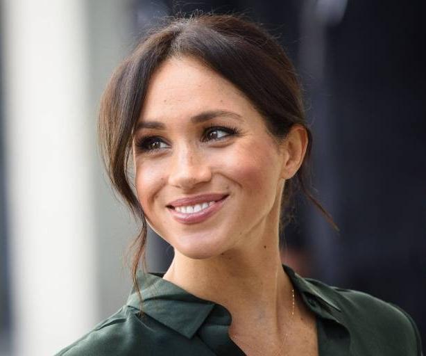Herzogin Meghan hat einen strahlenden Teint und muss kaum Make-Up benutzen.  ©imago/PA Images