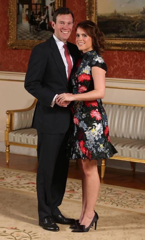 Prinzessin Eugenie und Jack Brooksbank heiraten in der St. George's Kapelle. Auch viele prominente Gäste werden erwartet. U.a. werden Robbie Williams und die Beckhams erwartet.  ©imago