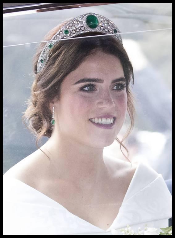 Wunderschön: Herzogin Eugenie überzeugt mit ihrem Brautlook.  ©imago