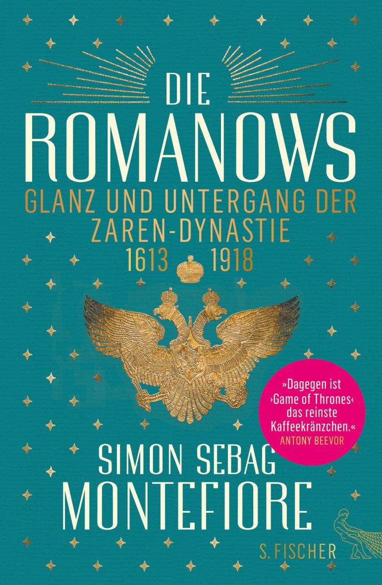 """""""Die Romanows: Glanz und Untergang der Zarendynastie 1613-1918"""" von Simon Sebag Montefiore,  hier bestellen   ©PR"""