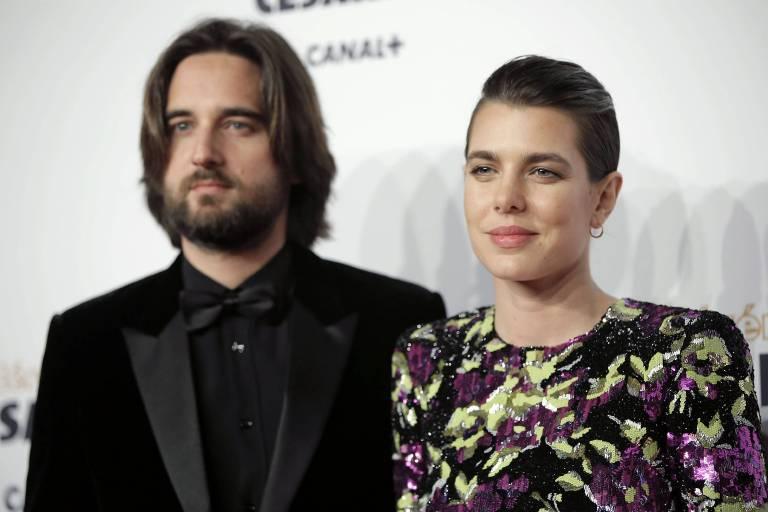 Charlotte Casiraghi und ihr Partner Dimitri Rassam freuen sich über einen Sohn.  ©imago