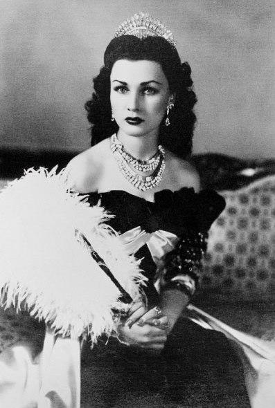 Wegen ihres Aussehens wurde Königin Fausia oft dem Filmstar Vivien Leigh verglichen.  ©Public Domain