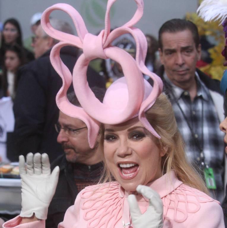 Die amerikanische Moderatorin Kathy Lee Gifford ging Halloween 2011 als Prinzessin Beatrice.  ©imago