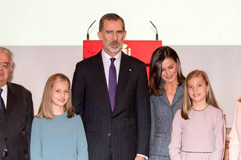 Prinzessin Sofia war ebenfalls dabei. Die Schwestern gibt es in der Öffentlichkeit nur im Doppelpack.  ©imago/APress