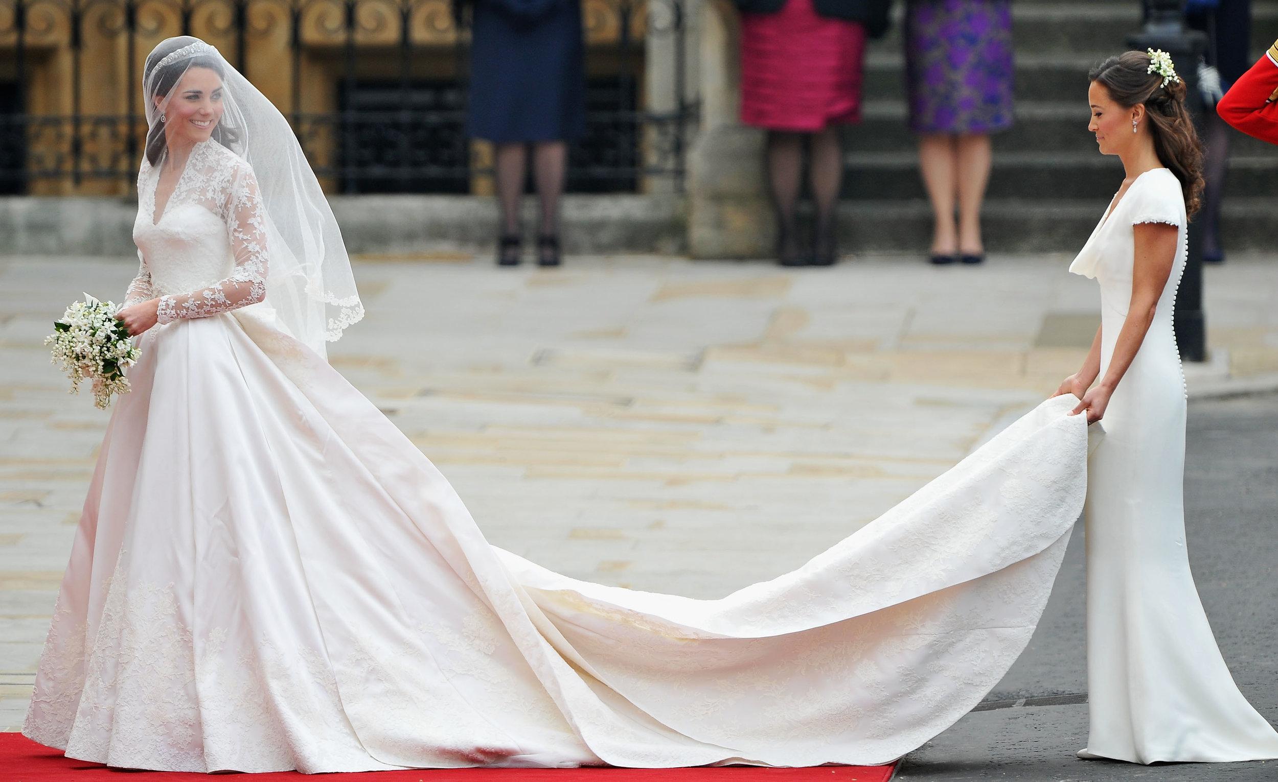 Vor ihrer Hochzeit soll Herzogin Kate zwei Kleidergrößen abgenommen haben. Dabei hängt ihre Schönheit sicher nicht von ihrem Gewicht ab, sondern von ihrer Ausstrahlung.  ©Getty Images