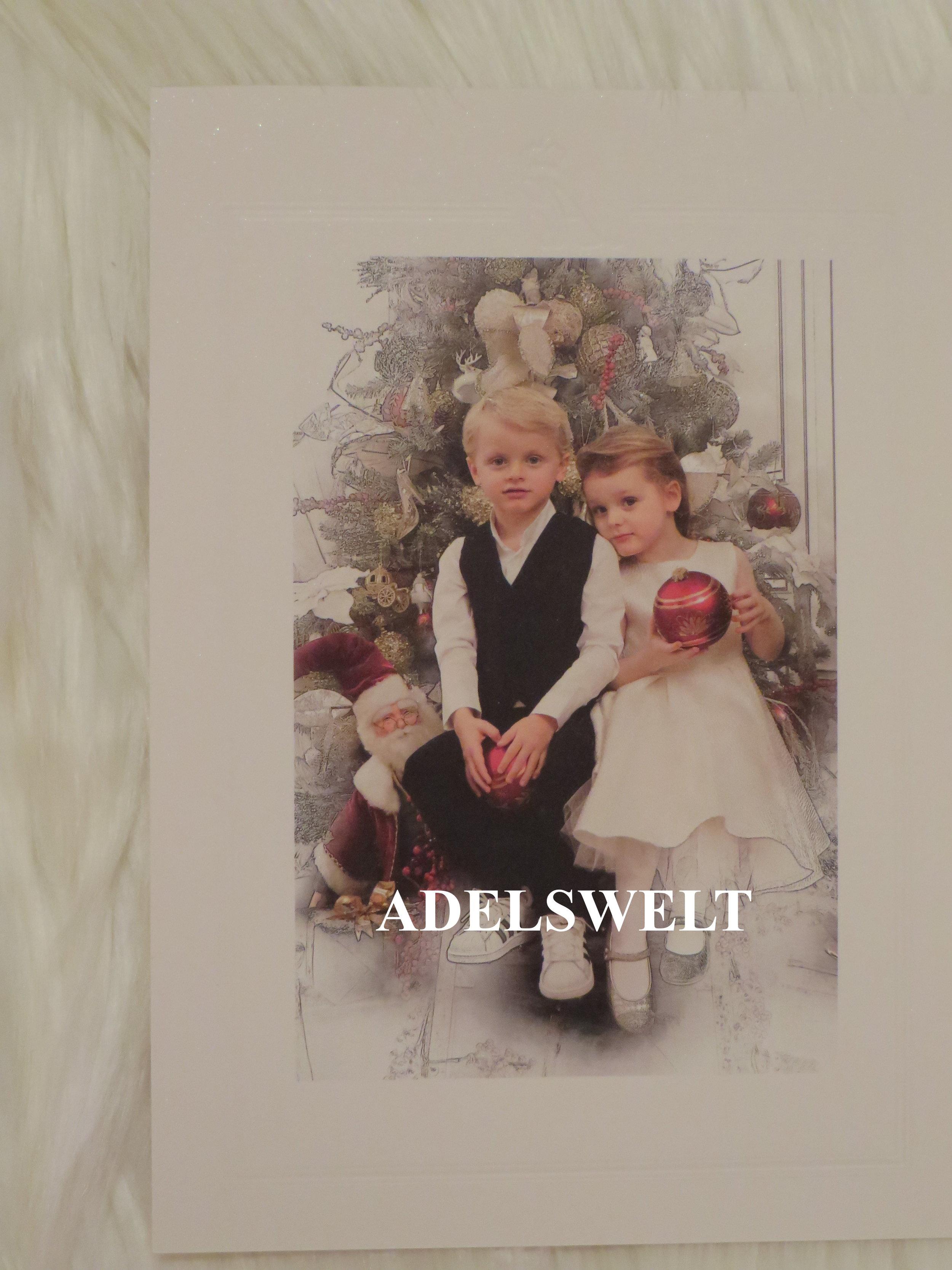 Was sich Prinz Jacques und Prinzessin Gabriella wohl vom Weihnachtsmann wünschen?  ©Mit freundlicher Erlaubnis von  royal_replies_by_kris
