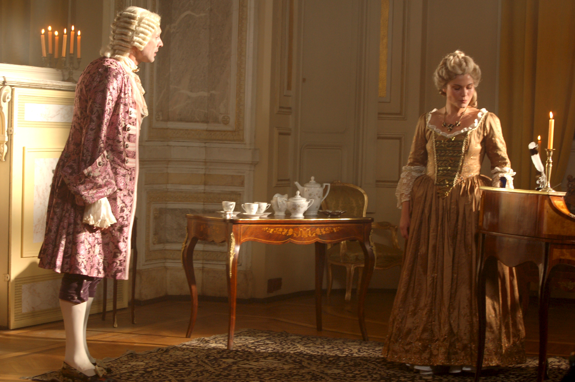 Der Einmarsch der Preußen in Schlesien trifft Maria Theresia (Yasmina Djaballah) völlig unvorbereitet.  © ZDF/Jan Prillwitz