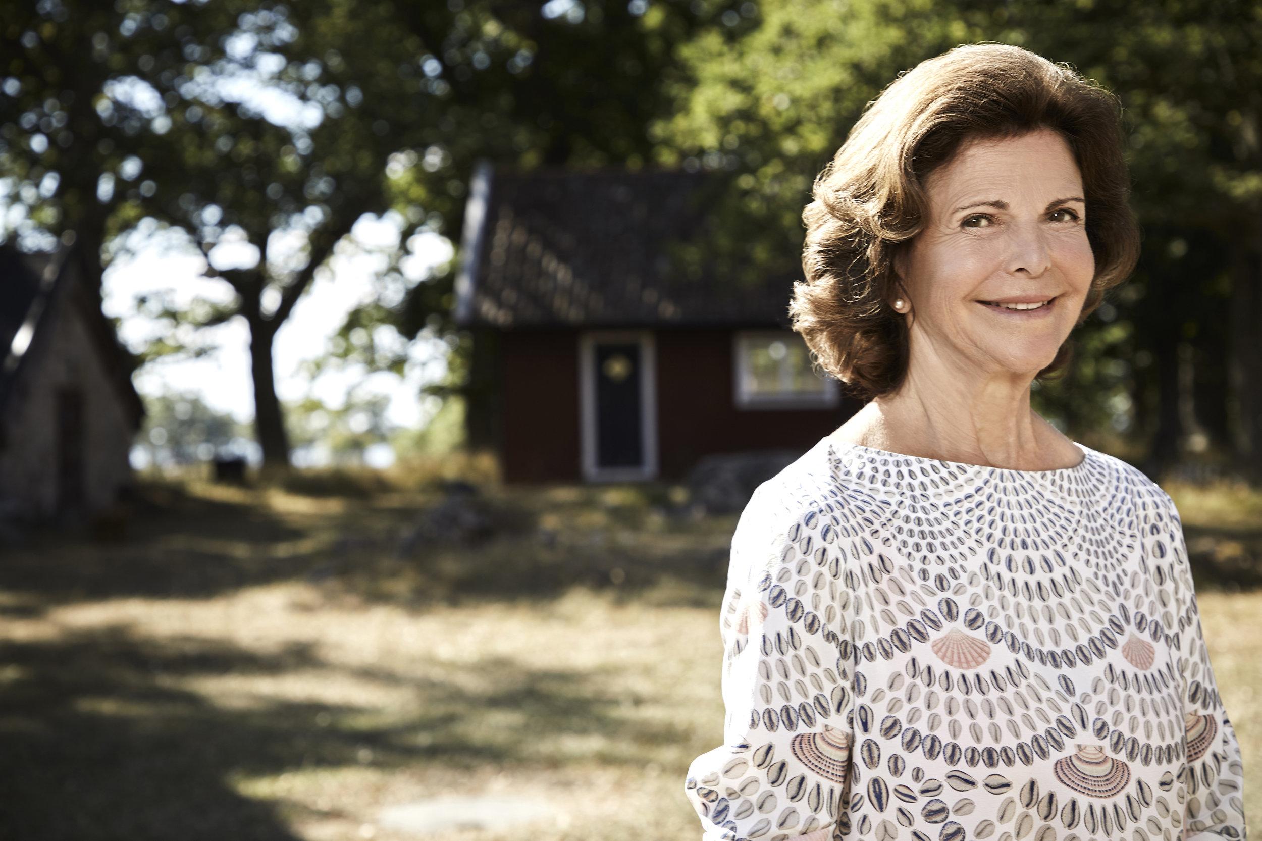 """""""Du bist für mich ein großes Vorbild, und ich bin stolz darauf, dass du meine Mutter bist. Ich liebe dich"""", erklärte Kronprinzessin Victoria in einer Rede über ihre Mutter.  ©Anna-Lena Ahlström, Kungl. Hovstaterna"""