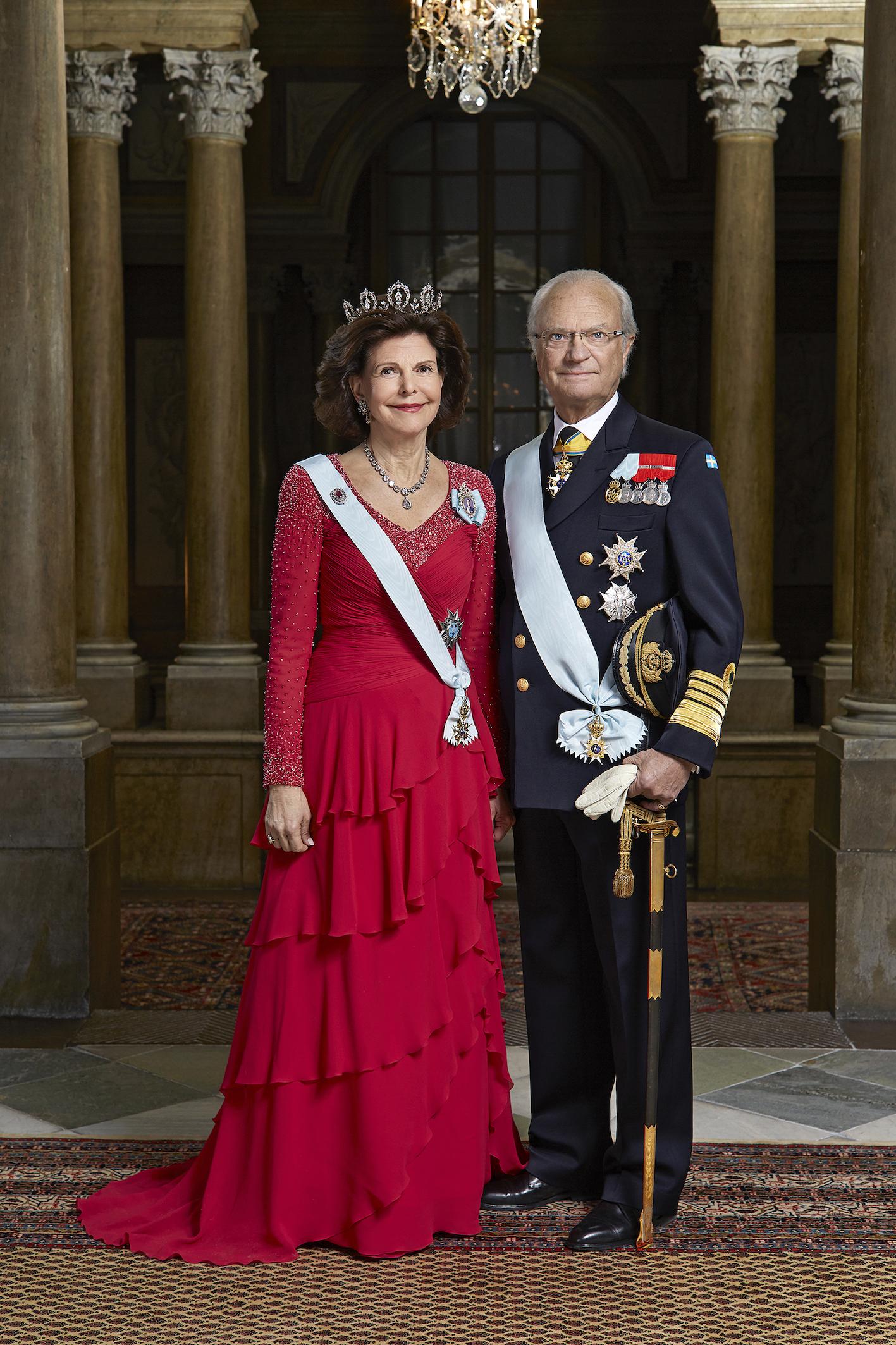 Seit über Jahren sind die gebürtige deutsche und der schwedische Monarch ein eingespieltes Team.  ©Peter Knutson, Kungahuset.se