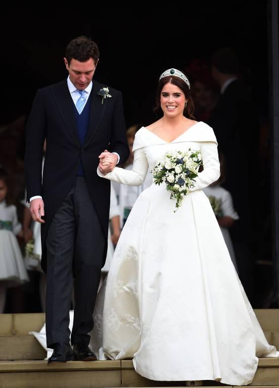 Prinzessin Eugenie heiratet den bürgerlichen Geschäftsmann Jack Brooksbank, den sie 2010 bei einem Ski-Trip kennengelernt hatte.  ©imago/i Images