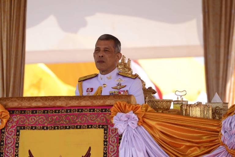 Wird der König Deutschland nun verlassen und nach Thailand zurückkehren?  ©imago/ZUMA Press