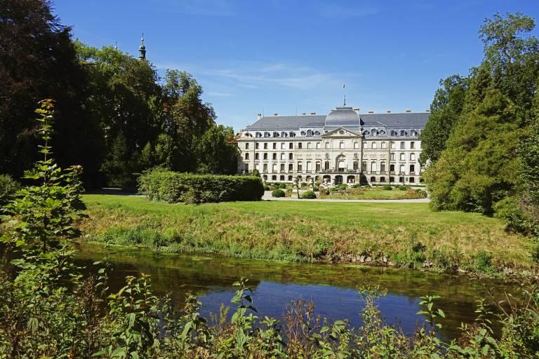 Schloss Donaueschingen ist der Wohnsitz von Fürst Heinrich und seiner Familie.  ©imago/Westend61
