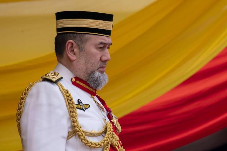 Sultan Muhammad V. dankt ab – aus gesundheitlichen Gründen. Doch der die Wahrheit könnte eine andere sein.  ©imago/ZUMA Press