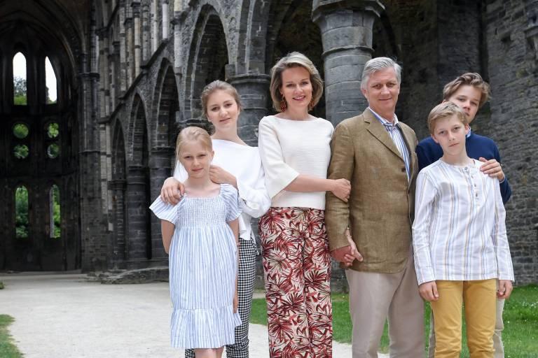Statt Skifahren entschieden sich König Philippe und Königin Mathilde dieses Jahr, die Winterferien mit ihren vier Kindern in Ägypten zu verbringen.  ©imago/Belga