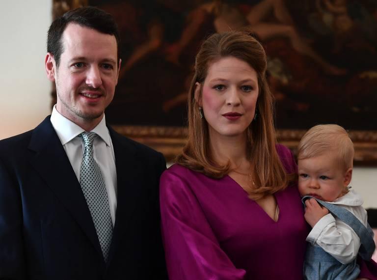 Im Dezember wurde Prinz Stefan getauft. Regelmäßig postet die stolze Mutter Bilder von ihrem Sohn im Internet.  ©imago/Pixsell