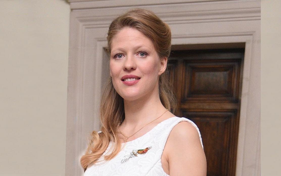 """Prinzessin Danica arbeitete früher bei der Zeitschrift """"Elle"""".  ©Royal Office of Serbia"""