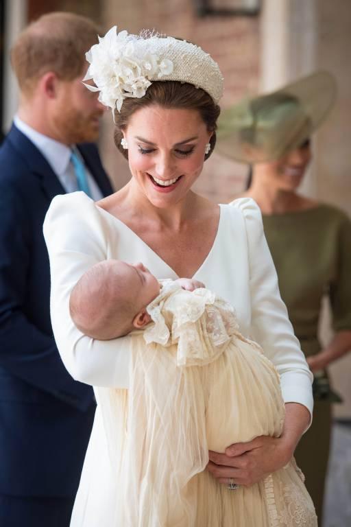"""""""Er ist sehr entspannt und friedlich"""", schwärmte Herzogin Kate noch bei der Taufe von Prinz Louis. Die ruhigen Zeiten sind offenbar vorbei.  ©imago"""