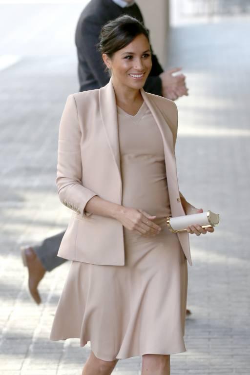 Sein Anfang des Jahres ist Herzogin Meghan Schirmherrin des National Theatre. Nun schaute sie auf einen Besuch vorbei.  ©imago