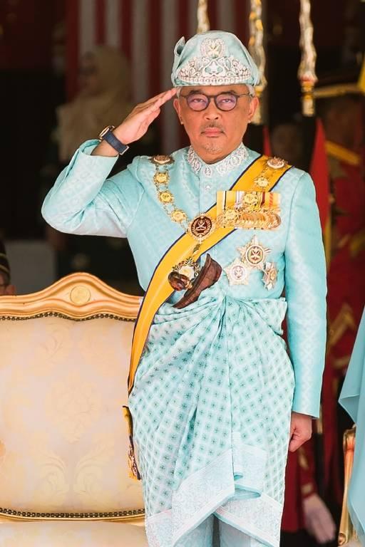 König auf Zeit: Die nächsten fünf Jahre darf Tengku Abdullah sein Land repräsentieren.  ©imago/Xinhua