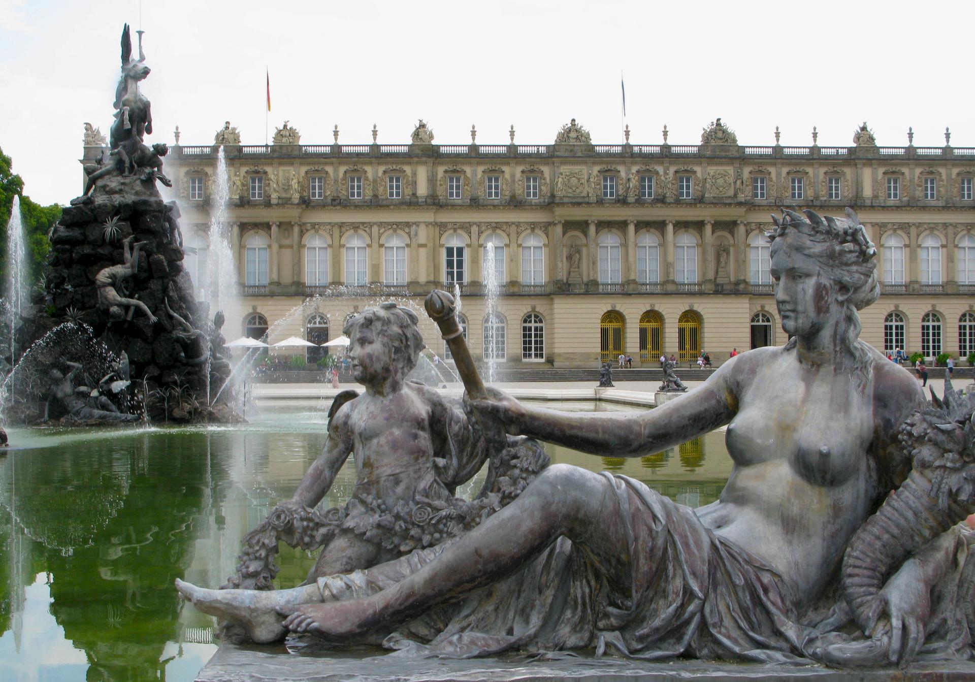 Ludwig II. ließ sein Inselschloss nach dem Vorbild von Versailles bauen.  ©ZDF/Gert Anhalt