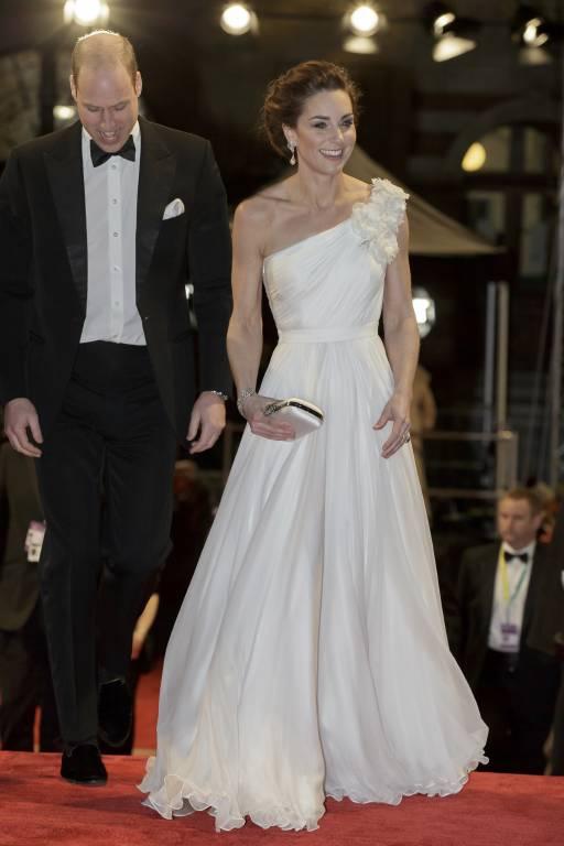 Prinz William ist seit 2010 Präsident der British Academy Film Awards (kurz BAFTAs), deswegen verpasst er auch nie eine der Preisverleihungen.  ©imago