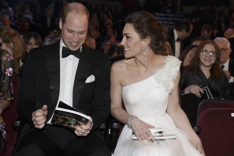 Date-Night für William und Kate. Beide freuen sich über den kinderfreien Abend.  ©imago