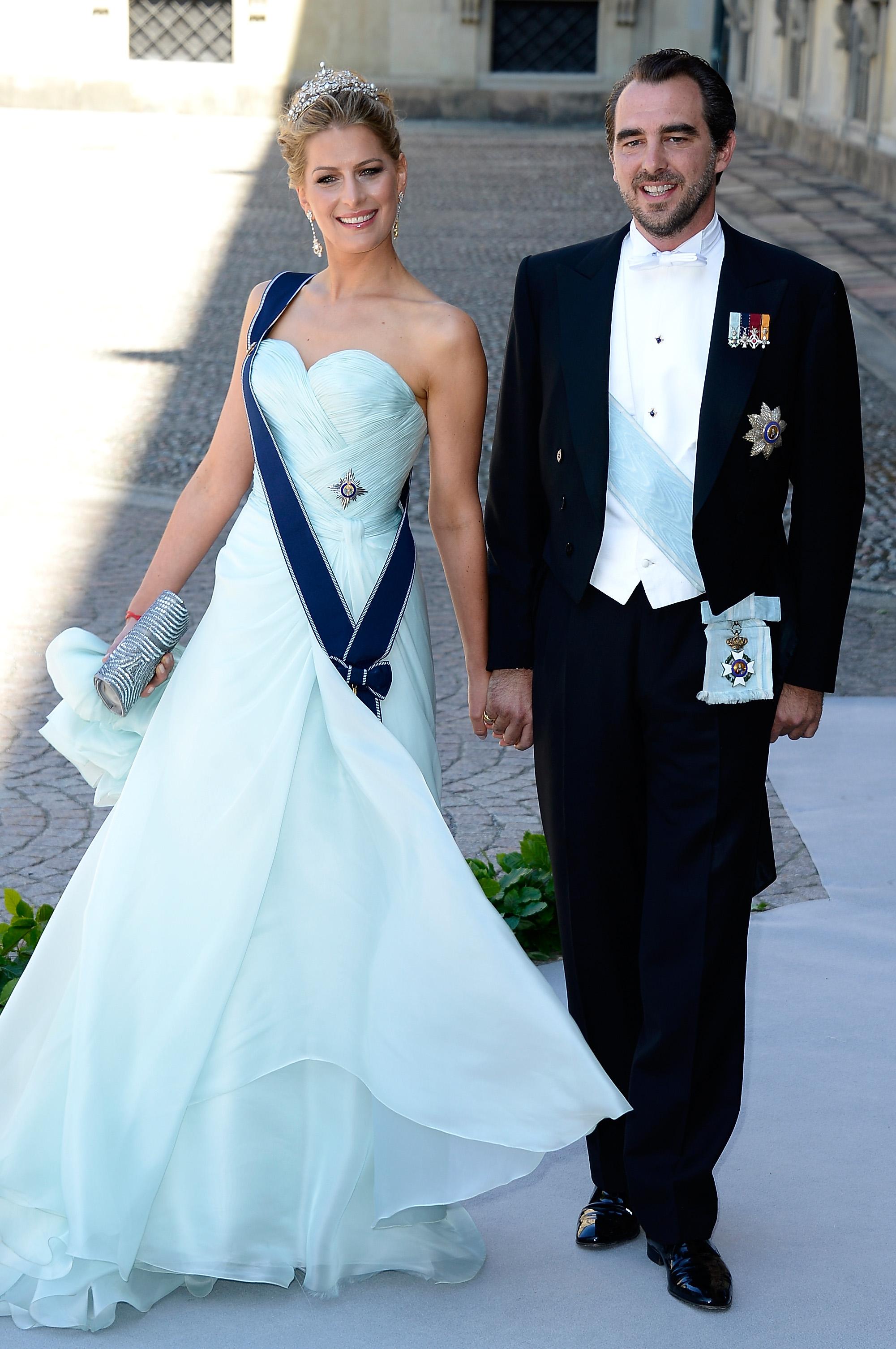 Prinzessin Tatiana und Prinz Nikolaos teilen ihre Liebeserklärungen gerne im Internet.  ©Getty Images