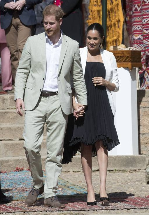 Prinz Harry und Herzogin Meghan sind drei Tage auf Staatsbesuch in Marokko.  ©imago