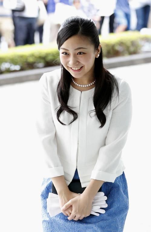 Die niedliche Prinzessin Kako hat mehrere Fanseiten im Internet.  ©imago/Kyodo News