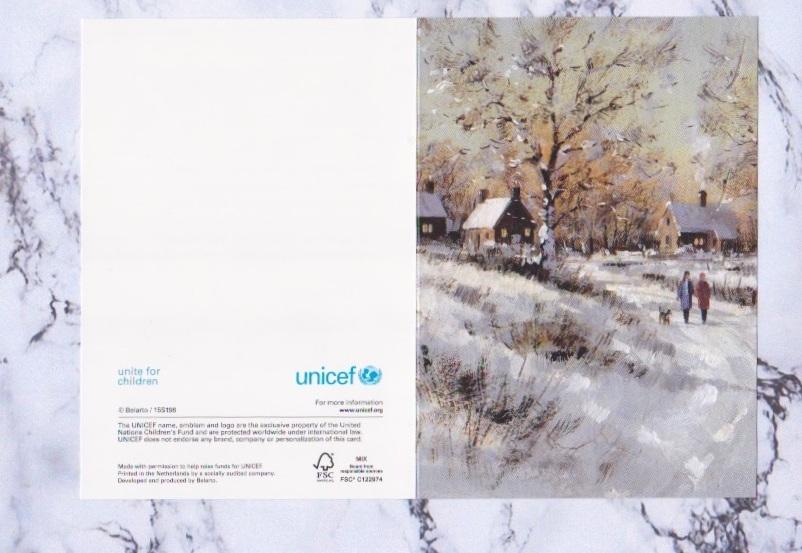 Das niederländische Königspaar verschickte Karten von Unicef, die im Motiv variieren.  ©ADELSWELT
