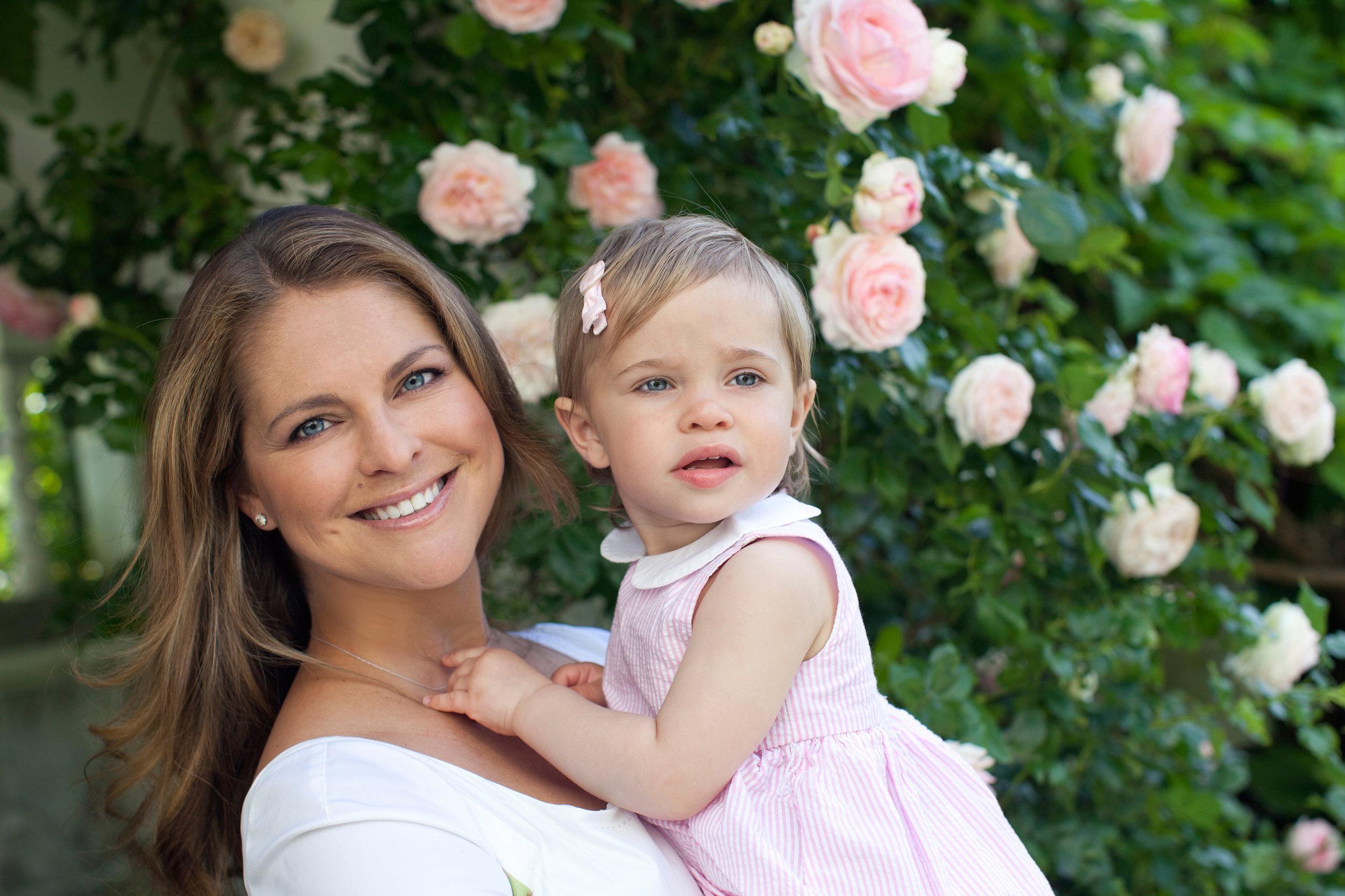 Auch Prinzessin Leonore trug das Kleid im ersten Lebensjahr  Foto: Brigitte Grenfeldt, Kungahuset.se