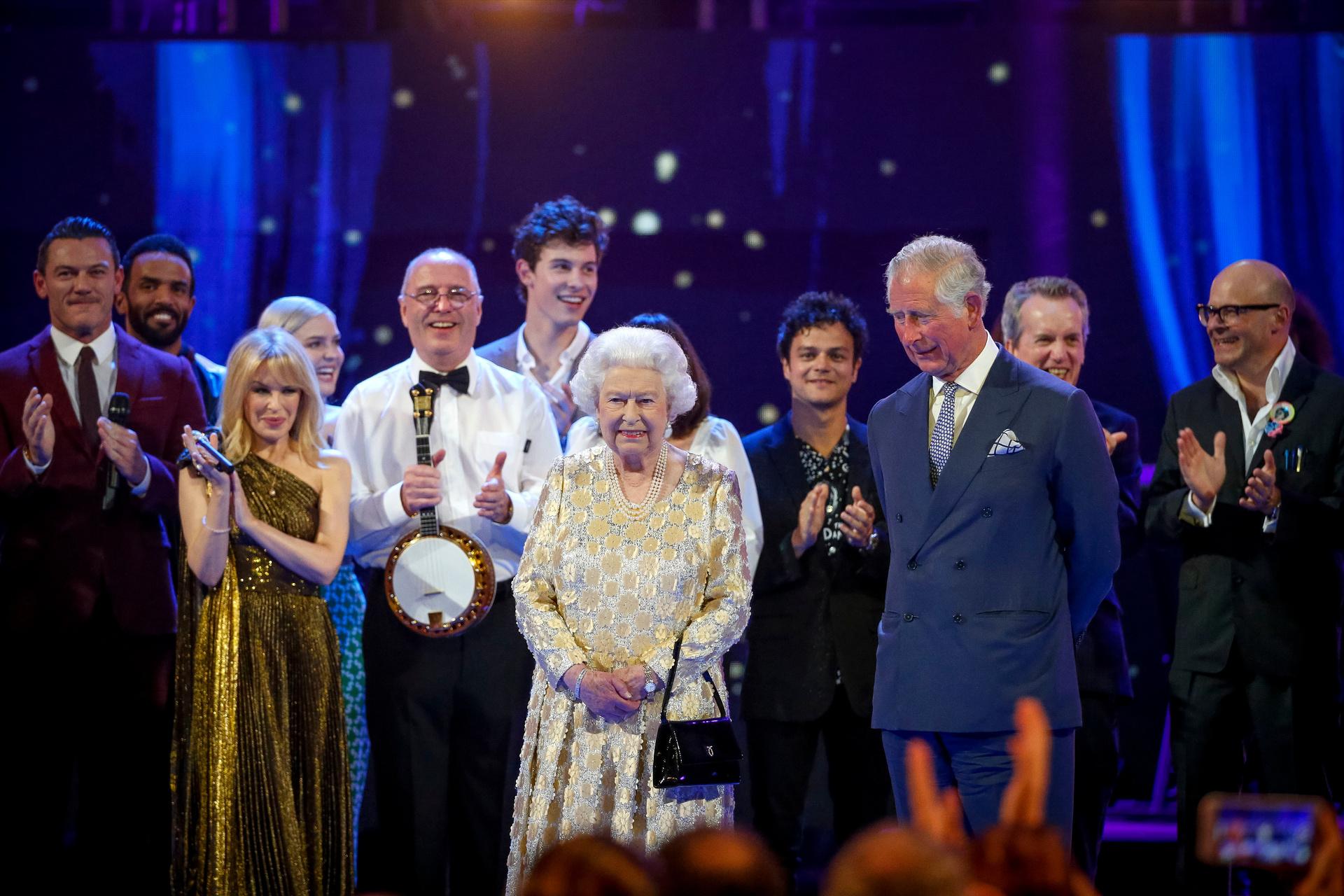 """""""The Queen's Birthday Party"""" nannte sich das Konzert zum 92. Geburtstag von Queen Elizabeth II. am 21. April 2018 in der Royal Albert Hall in London. Zahlreiche Künstler wirkten mit.  © ZDF/WDR/BBC/GUY LEVY"""