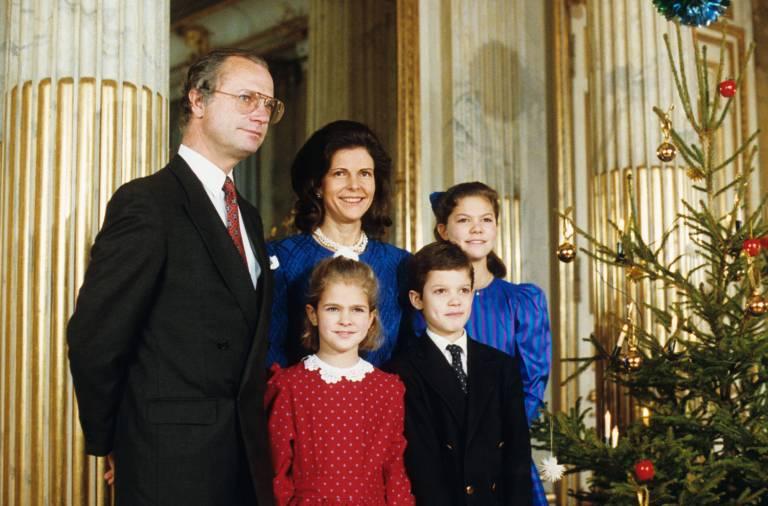Prinzessin Madeleine war als Kind besonders schüchtern. Bei Presseterminen lief sie immer davon.  ©imago/United Archives International