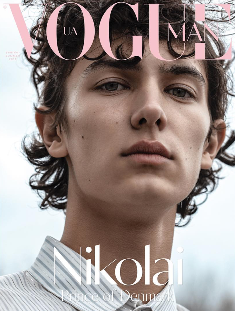"""Prinz Nikolai von Dänemark ist in  """"Vogue Man""""  zu sehen.  ©Vogue Ukraine"""