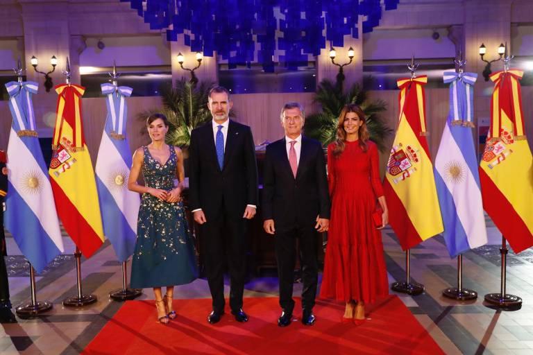 Es war der erste offizielle Staatsbesuch von Königin Letizia und König Felipe in Südamerika seit 15 Jahren.  ©imago/PPE