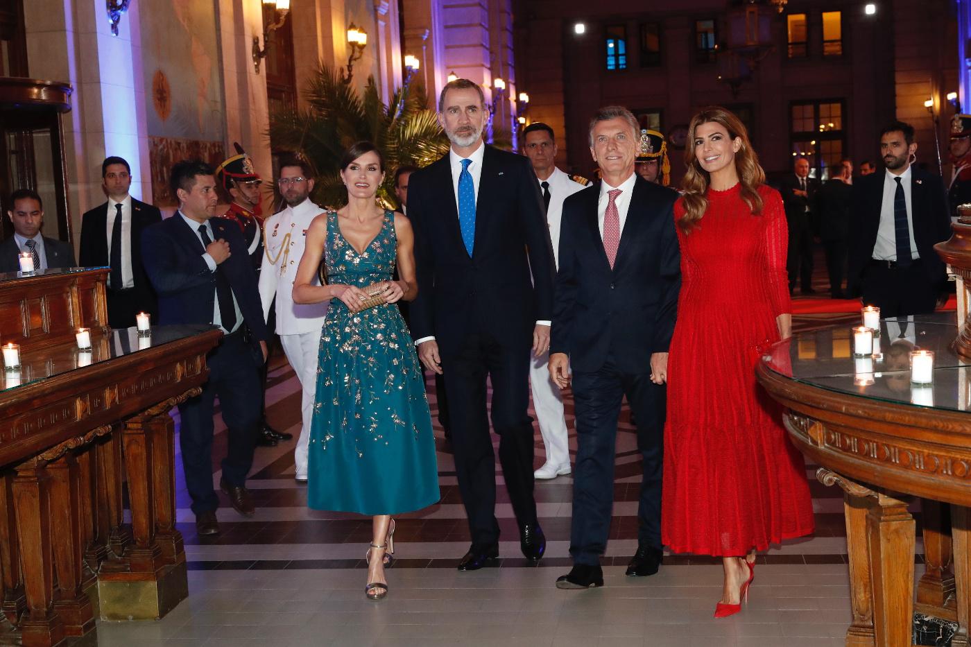 Vor zwei Jahren waren der argentinische Präsident und seine Frau bereits in Madrid zu Gast.  © Casa de S.M. el Rey