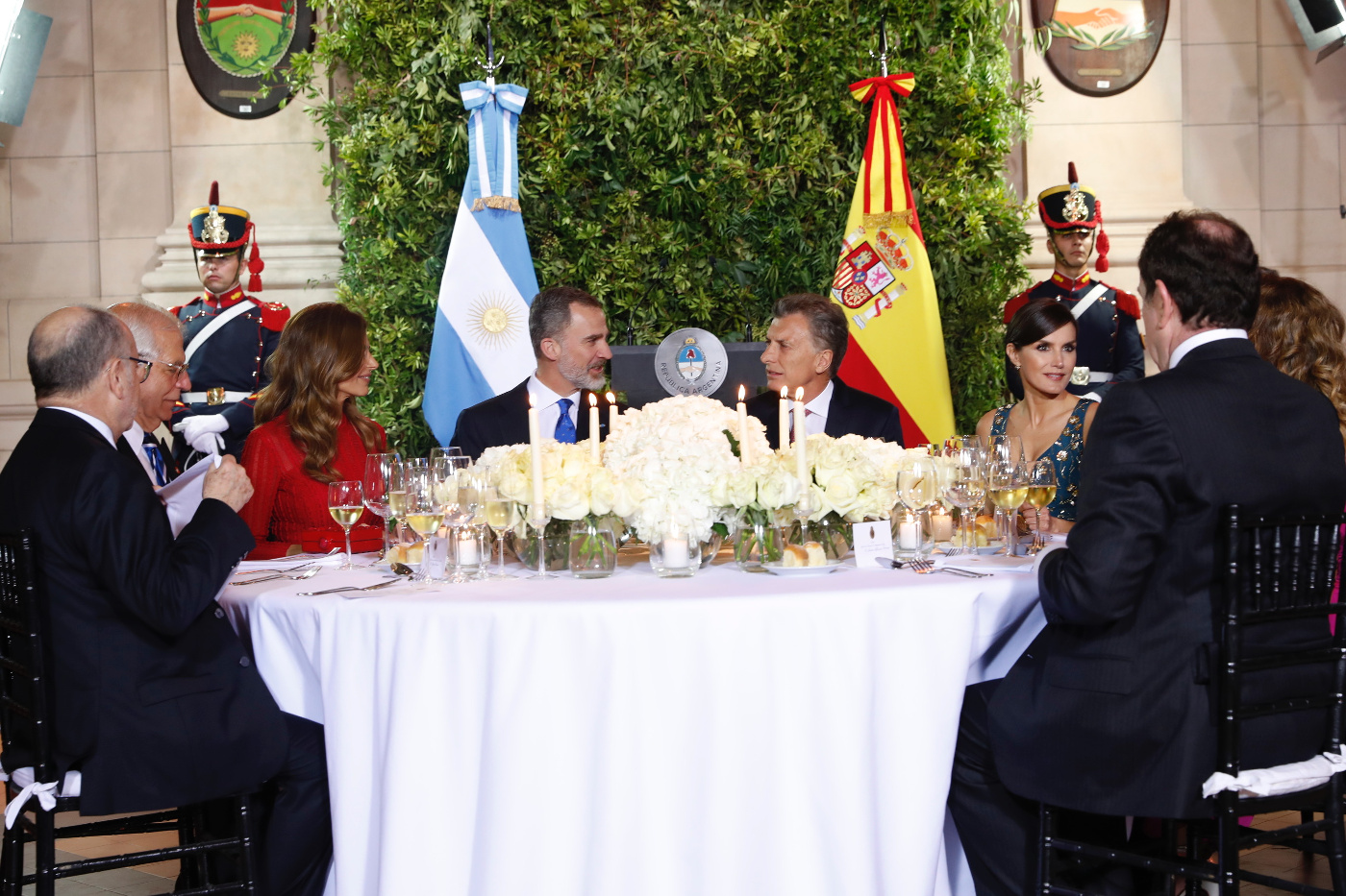 Beim Gala-Dinner waren rund 400 Gäste eingeladen.  © Casa de S.M. el Rey