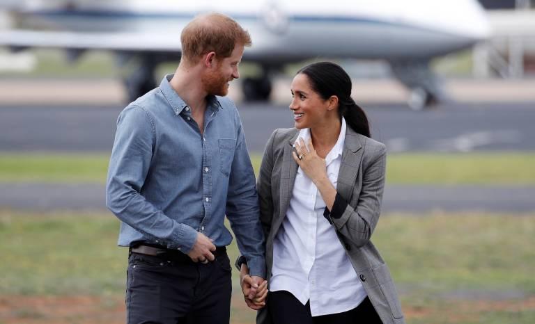Herzogin Meghan und Prinz Harry krönen ihre Liebe kein Jahr nach der Hochzeit schon mit einem Baby.  ©imago/PA Images