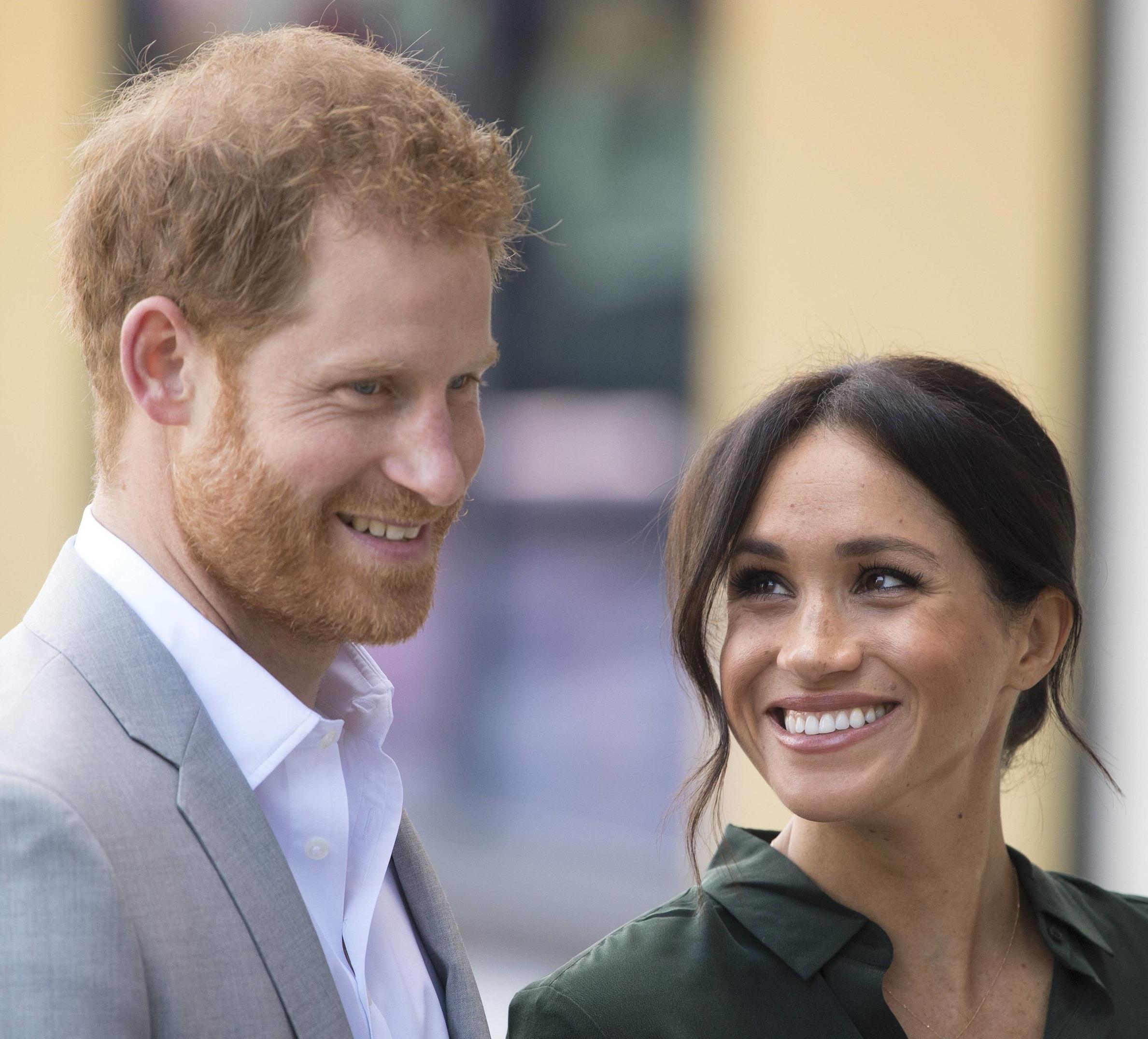 Prinz Harry und Herzogin Meghan könnten nicht glücklicher sein: Sie freuen sich über die Geburt ihres ersten Babys.  ©imago/i Images