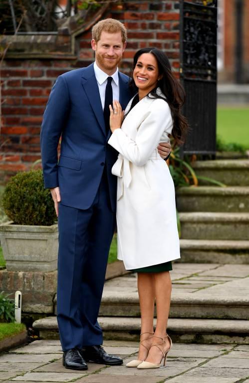 Der Verlobungsring von Herzogin Meghan ist eine süße Hommage an Prinzessin Diana.  ©imago/PA Images